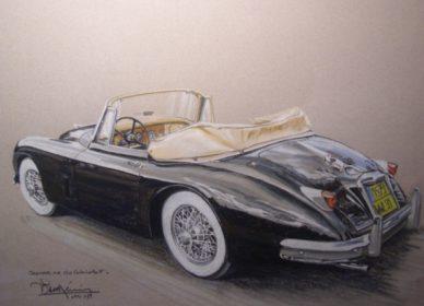Jaguar XK 150 Cab